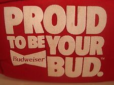 Vintage Budweiser Cooler Six Pack