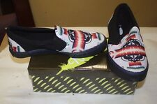 NATIVE SLIP-ON NATIVE AMERICAN THEMED SHOES MENS SIZE 7 GRAY NIB FREE SHIPPING