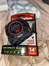 Crescent L1125B Lufkin 25' Shockforce Nite Eye Dual Sided Tape Measure -*G35*