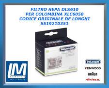 FILTRO HEPA DLS610 PER COLOMBINA XLC6050 5519210351 DE LONGHI ORIGINALE