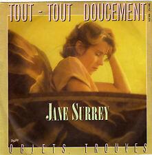 JANE SURREY TOUT-TOUT DOUCEMENT / OBJETS TROUVES FRENCH 45 SINGLE