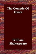 The Comedy of Errors (Paperback or Softback)