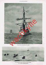 L'illustration n°4411 du 17/09/1927 Terre-Neuve pêche gare de l'Est mont Alverne
