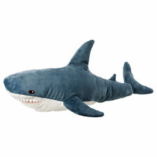 IKEA BLÅHAJ (Blahaj) Large Soft Toy Blue Shark (100cm)