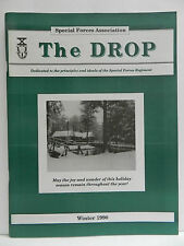 """""""GREEN BERET"""" THE DROP MAGAZINE, WINTER 1990 ISSUE, SPECIAL FORCES ASSOCIATION"""