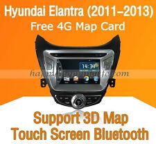 Car Dash DVD Radio Stereo GPS Navigation BT for Hyundai Elantra 2011 2012 2013