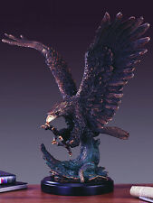 Magnificent & Very Large Eagle 24 x 25 Beautiful Bronze Statue / Sculpture