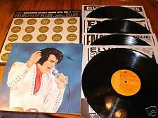 ELVIS PRESLEY WORLDWIDE 50 GOLD AWARD HITS VOLUME ONE ~ 4 RECORD BOX SET