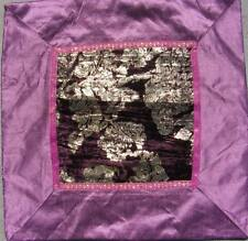 Silk Patchwork Decorative Cushions