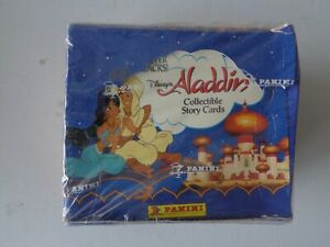 Aladdin          Trading Cards    Sealed   Booster Box