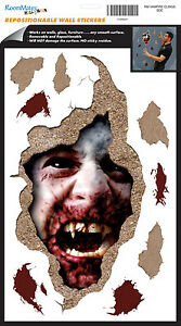 BLOODY VAMPIRE Wall Decals Halloween Party Decor Room Decor Stickers Decorations