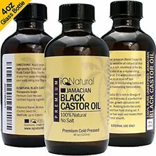 Jamaican Black Castor Oil for Hair Growth & Skin Conditioning 100% Cold-Pressed