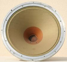 "Speaker klangfilm Field Coil Full Range VINTAGE green cone 15"" Horn Theater 30's"