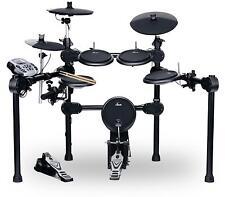 Batteria Elettronica Drum Percussion Set Modulo 458 Suoni Rack USB MIDI AUX Nero