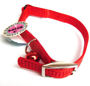 """Cat Safety Collar Expandable Snag Proof """"RED"""" Coastal Pet Products 9511s"""