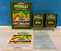 Pitfall (Atari 2600, 1982) Complete in Box - Tested & Working (See Description)