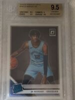 2019 Panini Donruss Optic #168 Ja Morant RC Rated Rookie BGS GEM MINT 9.5 INVEST