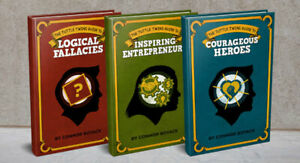 Tuttle Twins 3 Guide Books COURAGEOUS HEROES LOGICAL FALLACIES INSPIRING ENTREPR