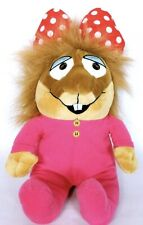 """Kohls Cares Little Critter Sister Pink Plush Stuffed Animal 2013 15"""" New Nwot"""