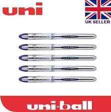 10 x uni-ball vision elite UB-200 0.8mm tip rollerball noir stylo