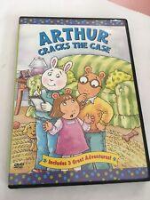 arthur cracks the case Dvd
