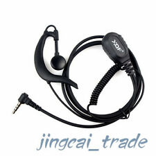 NUOVISSIMI g-shape PTT earpiece auricolare per Yaesu Vertex RADIO VX-160 VX-3R FT-60R