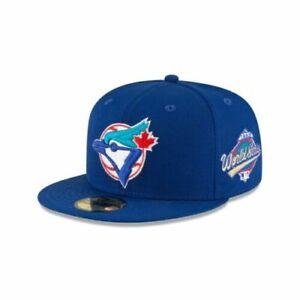 Toronto Blue Jays 18 New Era 1993 World Series Side Patch 59Fifty Wool Green UV