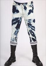 Original Men's Bleachers Jeans Domestos Jeans Denim Skinhead Punk Gay Full Zip