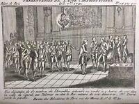 Constitution de 1791 Louis 16 Château des Tuileries Paris Touret Révolution