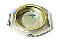 Caja reloj ETA 2789 diam ext 38 int 26 Original Stainless Steel watch case cod02