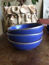 East Fork Pottery Set Of Lapis Breakfast Bowls 3 Bowl
