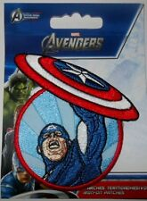 CAPTAIN AMERICA embroidered IRON ON PATCH awesome superhero 3.15 inches LOOK