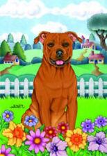 Spring House Flag - American Pit Bull Terrier 73096