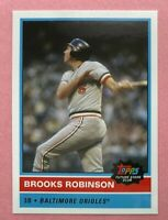 2020 TOPPS FUTURE STARS CLUB BROOKS ROBINSON #2 AUGUST BALTIMORE ORIOLES CARD