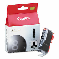 Genuine Canon 8 CLI-8BK Black Ink Cartridges For Canon Pixma iP3500 New Sealed