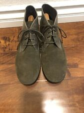 Camper Mens Boots Olives Ankle Boots Suede Sz 45/ 12 US