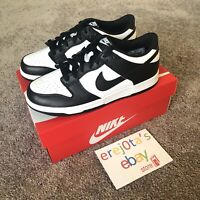 NEW Nike Dunk Low GS Size 7Y Black & White CW1590-100 | IN HAND WILL SHIP TODAY