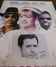 Nurse Betty DVD 2000 Morgan Freeman110 minutes Chris Rock Renee Zellweger Kinear