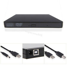 USA STOCK USB 2.0 External DVD Combo CD-RW CD±RW Burner Drive Black