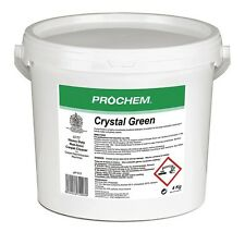 4kg Prochem Crystal Green Carpet Cleaning Detergent Shampoo Suitable For Vax