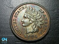 1884 PROOF Indian Head Cent Penny  --  MAKE US AN OFFER!  #B2540