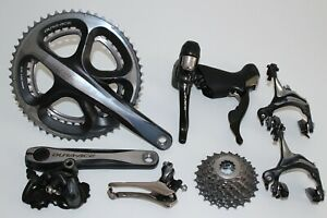 SHIMANO DURA ACE GROUPSET SHIFTERS CHAINSET DERAILLEUR BRAKES 10 SPEED 7900