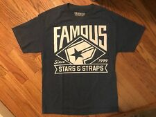 Famous Stars And Straps T Shirt Large Preowned
