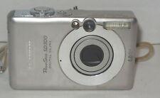 Canon PowerShot Digital ELPH SD300 / Digital IXUS 40 4.0MP Digital Camera - Silv