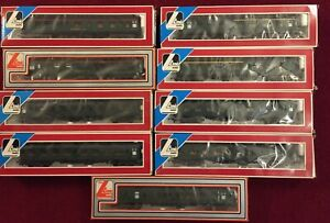 Lima 00 Gauge BR SR green Mk 1 Coaches boxed x 9 very good