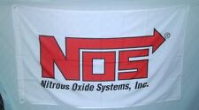 New listing Nos Nitrous Oxide Racing 3' X 5' Polyester Flag Banner Man Cave Bar Shop New #5