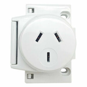 10x Quick Connect Plug Base Surface Socket 10A 240V 3 PIN For LED Downlights Fan
