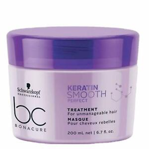 Schwarzkopf Professional Bc Keratin Smooth Perfect Treatment Purple Masque 200ml