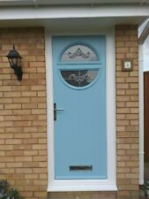 circle duckegg blue Composite Door (£725.00 Fully Fitted)