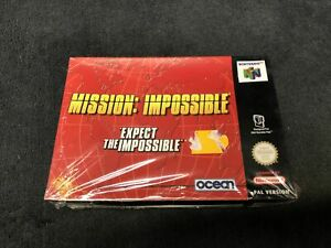Nintendo 64 Mission: Impossible FRA Neuf sous Blister